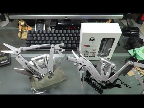 XIAOMI HUOHOU (or NEXTOOL FLAGSHIP PRO) Multi-Tool (Ruthless Comparison With ROXON Storm S801)