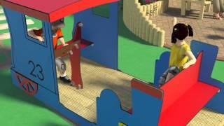 Play Train - Roleplay Playground Equipment