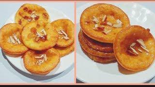 Malpua Recipe   दूध से बनायें राजस्थानी मालपूआ   Instant Malpua Recipe With Milk Powder