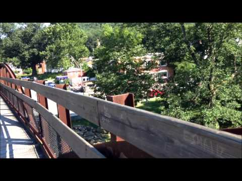 OHIOPYLE STATE PARK, THE YOUGHIOGHENY RIVER & THE LITTLE TOWN OF OHIOPYLE, PA.  MUST SEE!