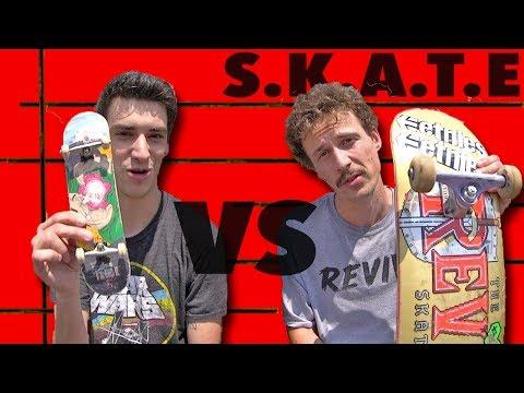 HANDBOARD VS  SKATEBOARD GAME OF S K A T E