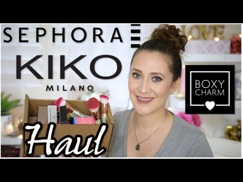 Sephora, Kiko Milano, Amazon & Boxycharm August 2017 HAUL