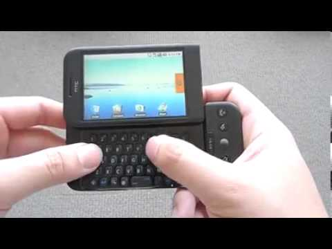HTC Dream review (first android phone)