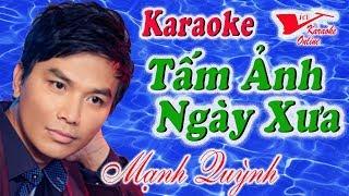 Karaoke Tam Anh Ngay Xua - Manh Quynh