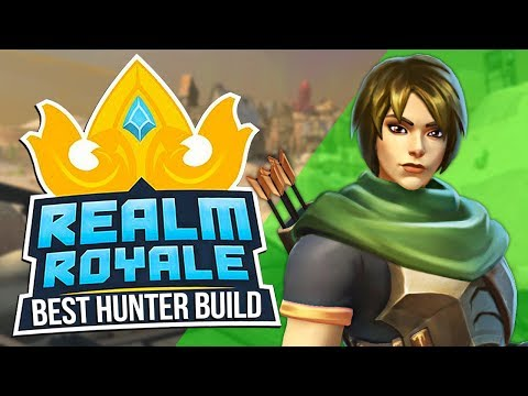 This Hunter Build is CRAZY GOOD! Longbow is Realm Royale's Best Weapon?