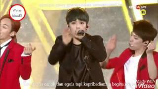 Seventeen Rock+Adore U Live at SMA indo sub+Lyrics