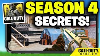 SEASON 4 SECRETS in Call of Duty Mobile...