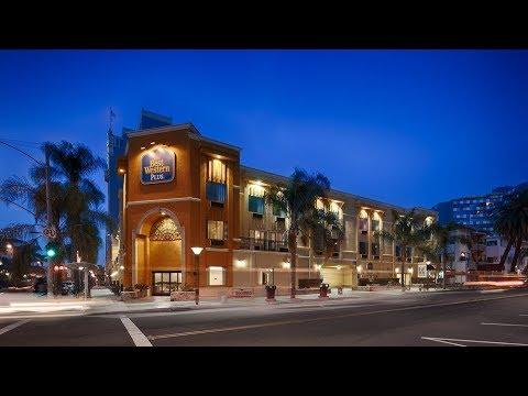 Иммиграция в США 4 Обзор отеля Best Western, Long Beach, CA