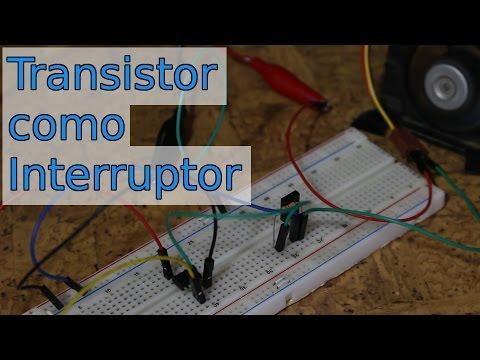 Transistor como interruptor (BJT)