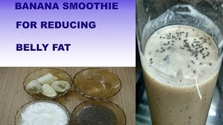 AMAZING DIET BREAKFAST BANANA SMOOTHIE FOR || WEIGHT LOSS ||