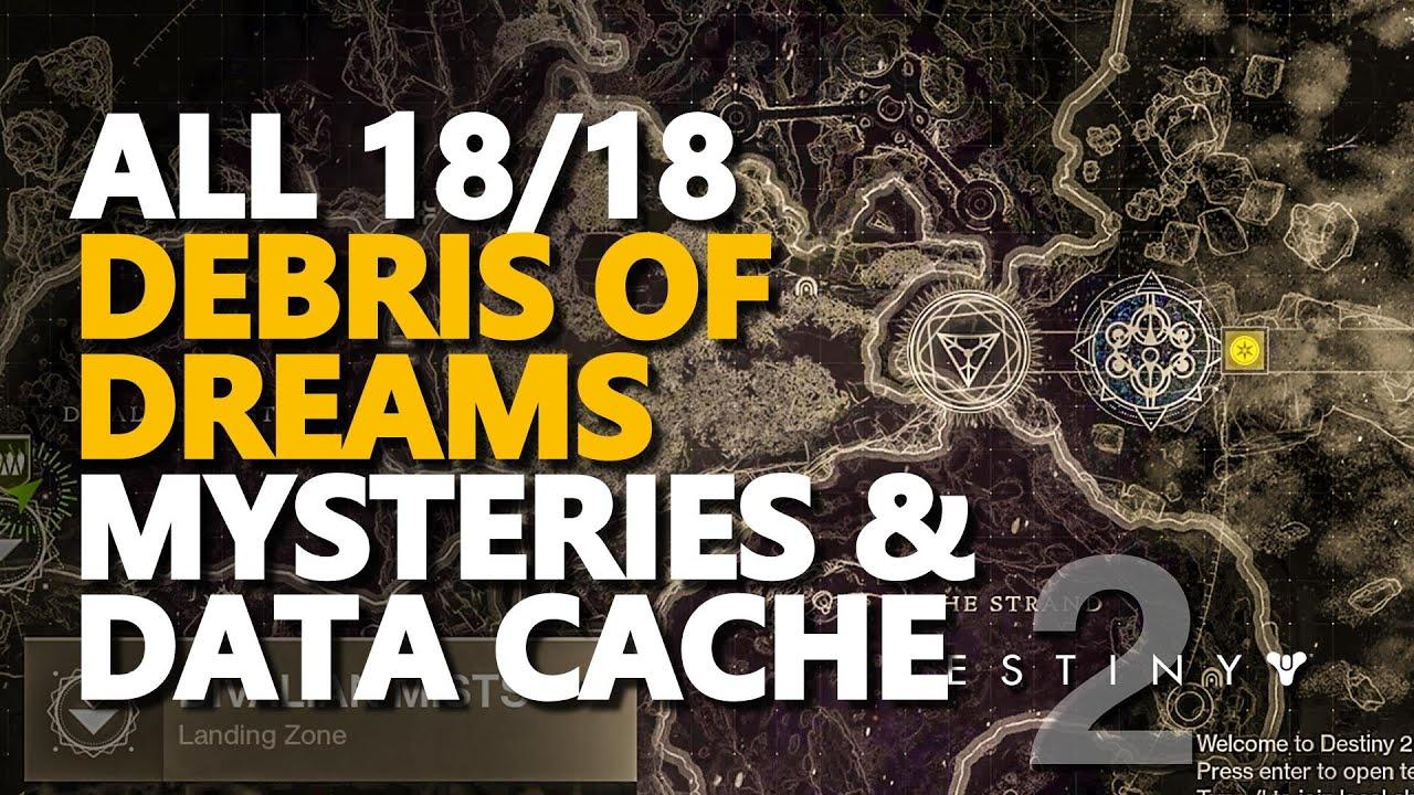 Download All Debris of Dreams Mysteries & Data Cache Destiny 2