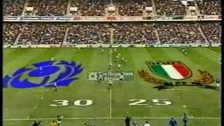 Rugby Scozia - Italia (33-25) 6 nazioni 2003 (full match)