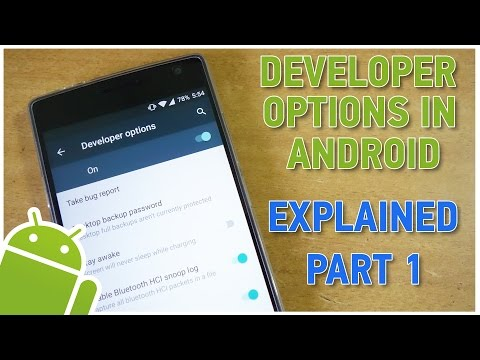 What are Developer Options in Android? Explained! Part 1