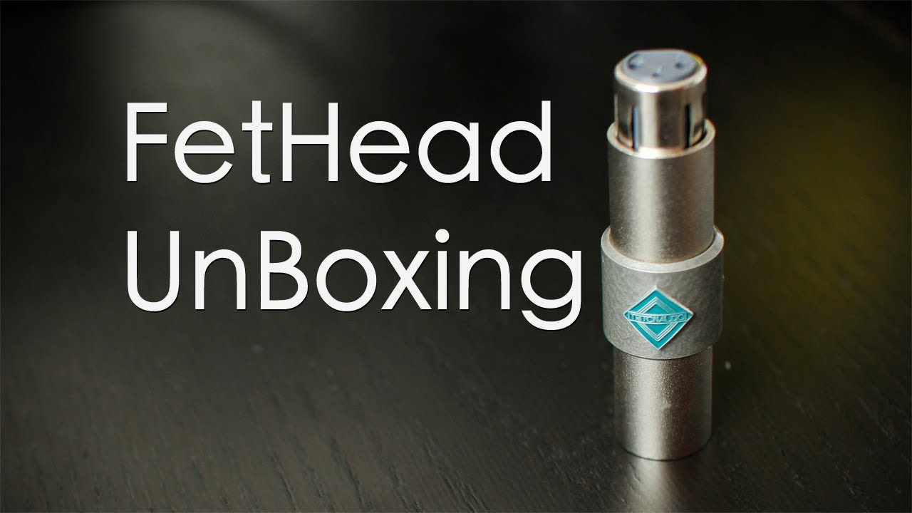 Triton Audio Fethead In Line Microphone Preamp Unboxing Youtube Preamplifier With Tlc251