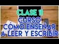 CURSO CÓMO ENSEÑAR A LEER Y ESCRIBIR | CLASE 11