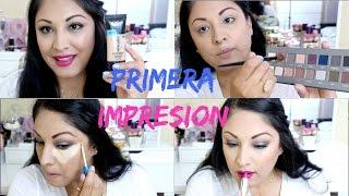 Probando Nuevo Maquillaje Primera Impresion MakeupLover67