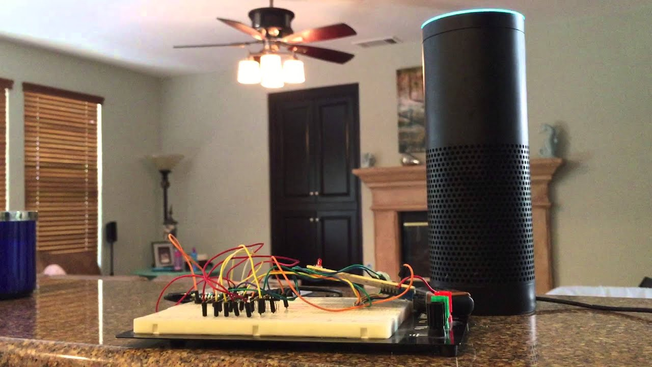 alexa skill for hampton bay ceiling fan rf control (feat. particle