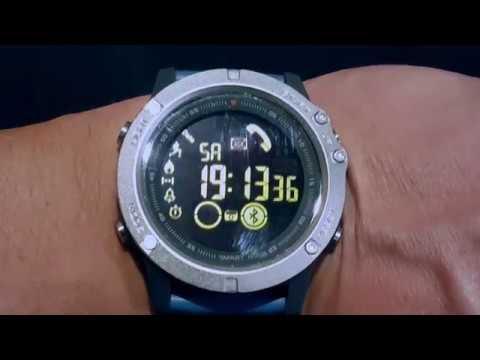 Zeblaze Vibe 3 Smart Watch By Bangood Unboxing Youtube