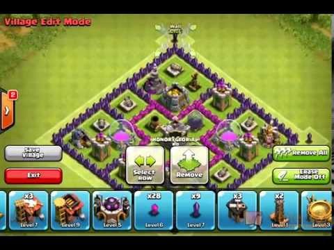 Clash Of Clans Farming Base TH 7