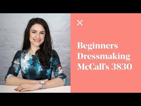 Beginners Dressmaking - McCall's Skirt 3830 Pattern