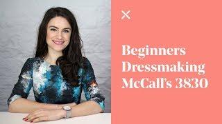 Beginners Dressmaking - Sewing McCall's Skirt 3830 | M8051 Pattern