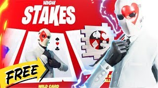 Fortnite - HIGH STAKES!!! - GETAWAY!!! - WEEK 3 CHALLENGES!!! - FREE!!! - NEW!!!