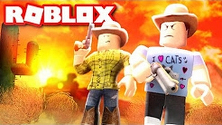 DENIS DAILY ROBLOX! BEING A COWBOY IN ROBLOX