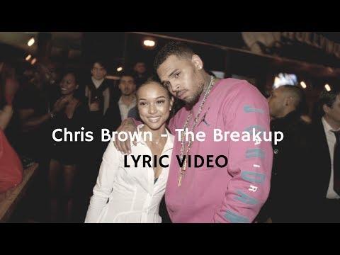 Chris Brown - The Breakup Lyric Video