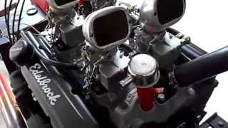283 Chevy Man-A-Fre Engine Running