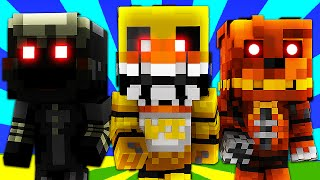 FNAF World - NIGHTMARE CHICA! (Minecraft Roleplay) Night 49
