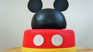 PASTEL DE MICKEY MOUSE - BAKING DAY