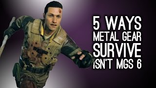 Metal Gear Survive - 5 Reasons It Isn't Metal Gear Solid 6
