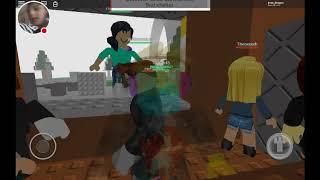 I play Roblox-Natural Disaster Survival