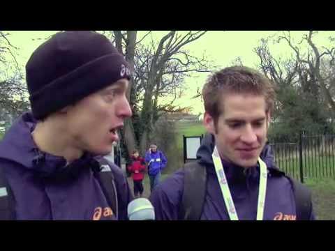 Interview Jesse van Burgt en Michel Basemans na EK cross Dublin 2009