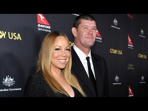 Mariah Carey and James Packer Hit Their First Red Carpet Since Engagement, and She Wore the Rock!