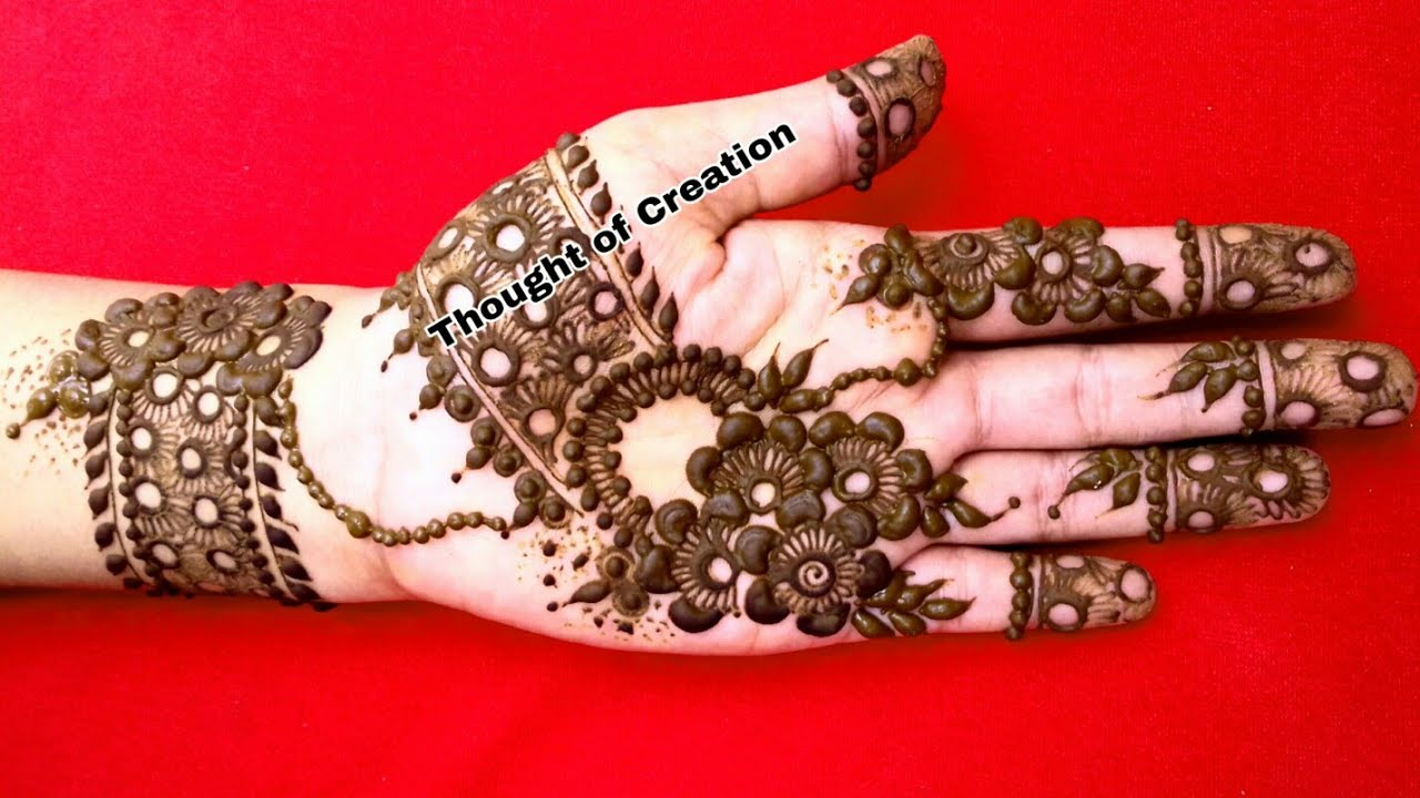 Floral Mehndi Design For Hands Mehndi Design 2018 New Style Eid