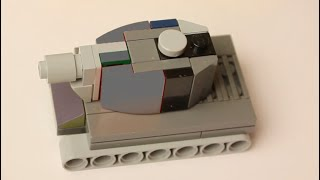 lego micro tank kv 2