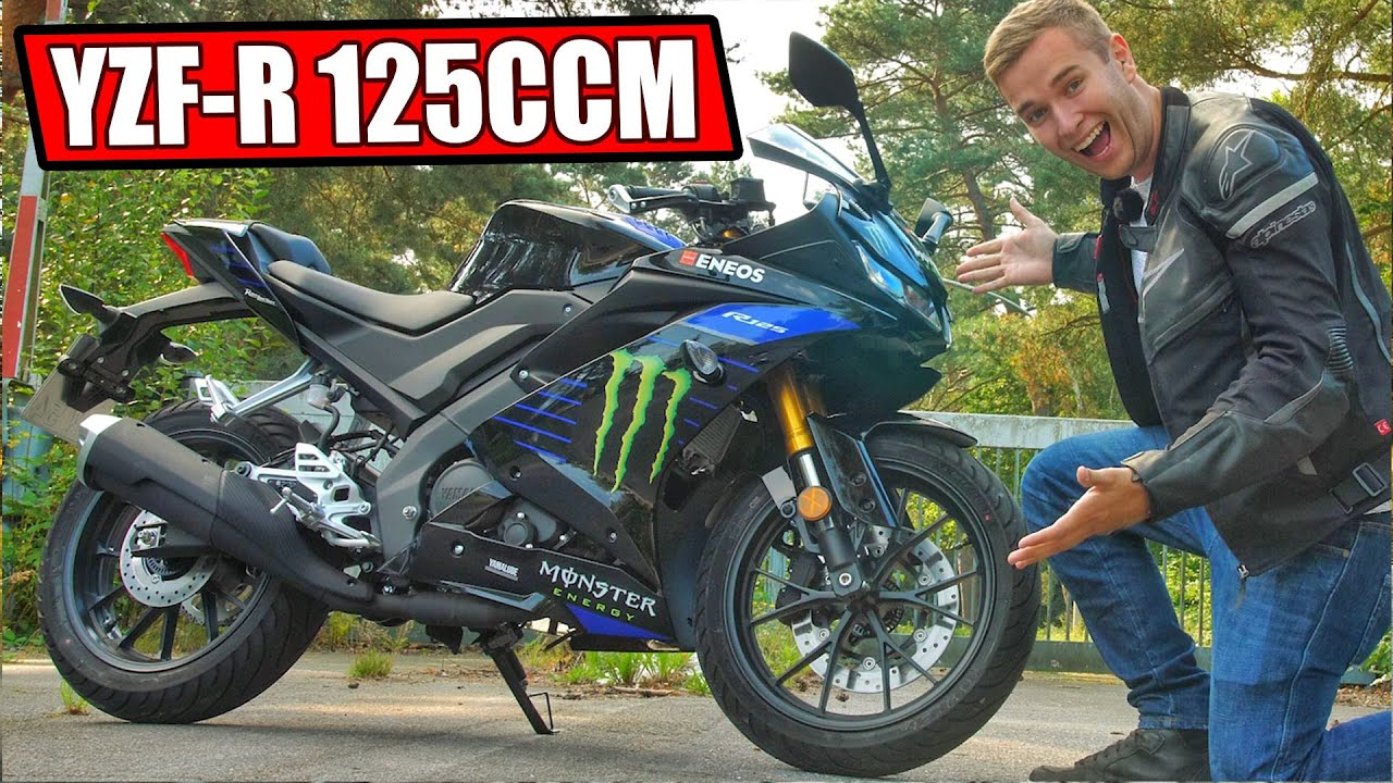 yamaha yzf r125 2019 motorrad 125ccm test youtube. Black Bedroom Furniture Sets. Home Design Ideas