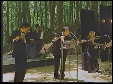 J.S.Bach: Triosonate G-dur (4) (Kazumi Sato, Takashi Tamura, Toshiaki Yokota)