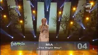 """Atlikėja Vilija Pilibaitytė - Mia atliko muzikinį kūrinį """"The right way"""""""
