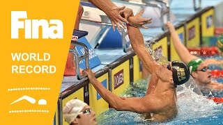 Brazil | World Record 4x50m Medley | 2014 FINA World Swimming Championships Doha