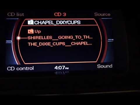 Audi MMI 2G MP3 CD Player