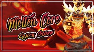 Molten Core│QUICK GUIDE│WoW Classic