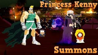 South Park The Stick of Truth - Princess Kenny Summons/Characters Transitions