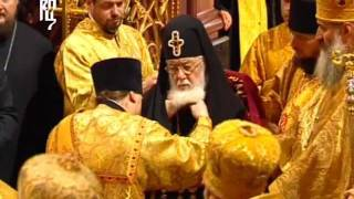 Запись богослужения в день 65-летия Патриарха. Часть 1