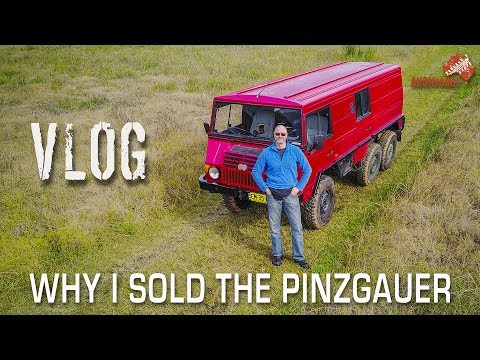 Why I regretfully sold the Pinzgauer 718K P80 6x6 | VLOG ALLOFFROAD #1