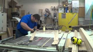 Building Custom Oak Cabinets Episode 1- Making The Face Frames