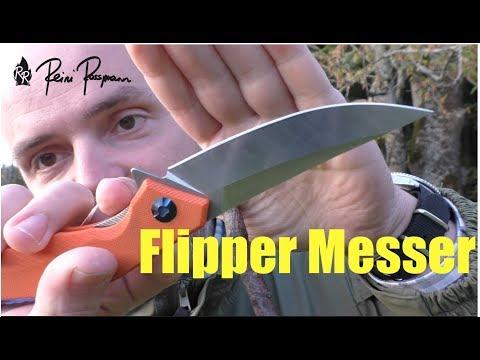 Flipper-Messer mit Spaß-Faktor...