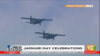 Kenya Air Force displays aerial combat prowess during 55th Jamhuri Day