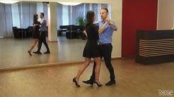 Langsamer Walzer Schritte Rechtsdrehung - Waltz Basics Dance Tutorial